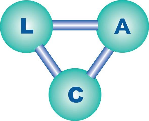 L.A.C. logo website